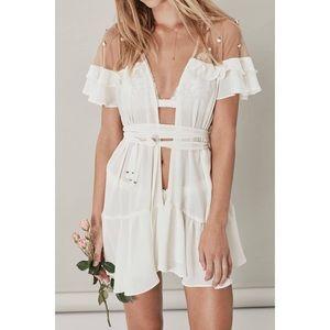 NTW For Love&Lemons Little Rosette Robe
